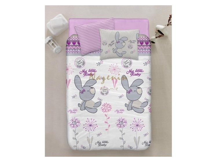 Постельное белье в детскую кроватку Nazenin. Petty