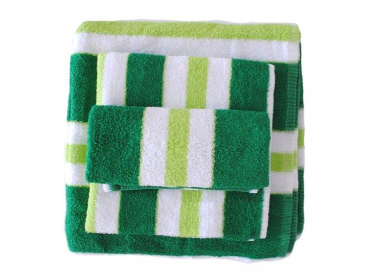 Полотенце махровое SoundSleep. Зелено-салатовое