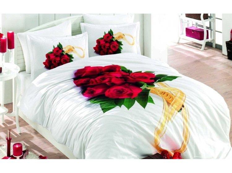 8f5c65803649 Купить Постельное белье Hobby Poplin. Rosemary красное — лучшая цена ...