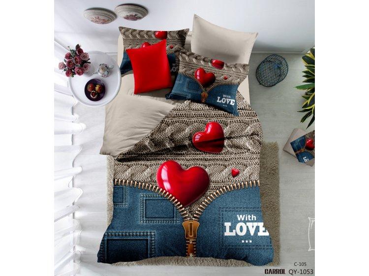Постельное белье Love you. QY 1053