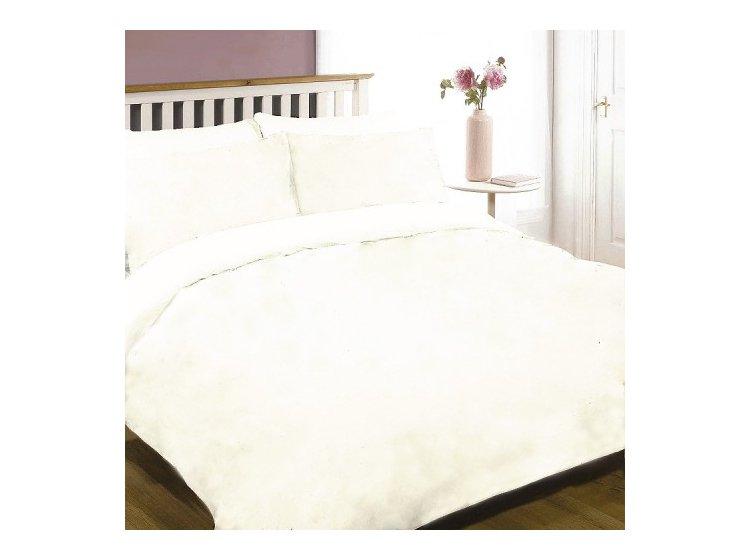 Постельное белье Viluta. Ранфорс белый