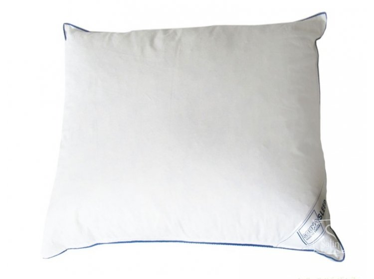 Подушка 5% пуха SoundSleep. Relax белая 70х70 см