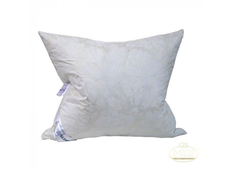 Подушка 30% пуха SoundSleep. Soaring молочная 70х70 см