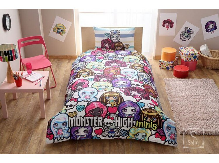 Детское постельное белье TAC. Monster High Minis