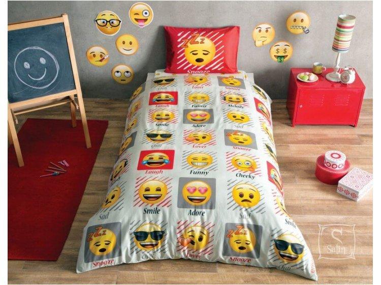 Детское постельное белье TAC. Emoji