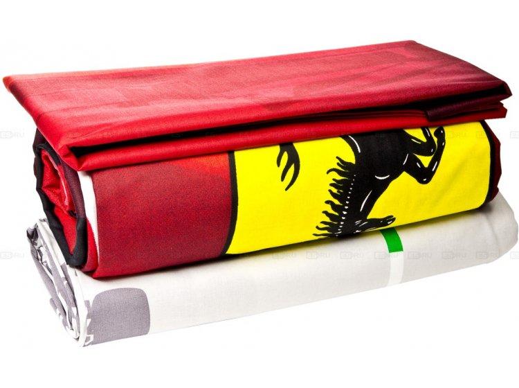 Детское постельное белье TAC. Ferrari F1 упаковка