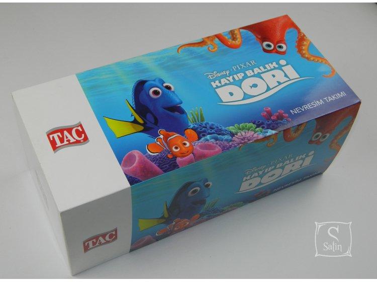 Детское постельное белье TAC.Disney Finding Dory упаковка