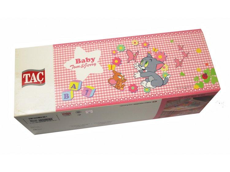 Постельное белье в детскую кроватку TAC. Tom and Jerry Baby Girl упаковка