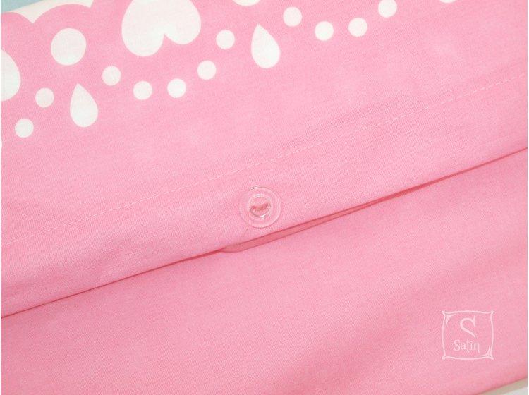 Постельное белье в детскую кроватку TAC. Tom and Jerry Baby Girl  пододеяльник