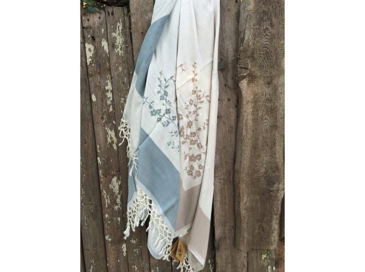 Бамбуковое полотенце Buldans. Tomurchuk gul kurusu, 100х180 см