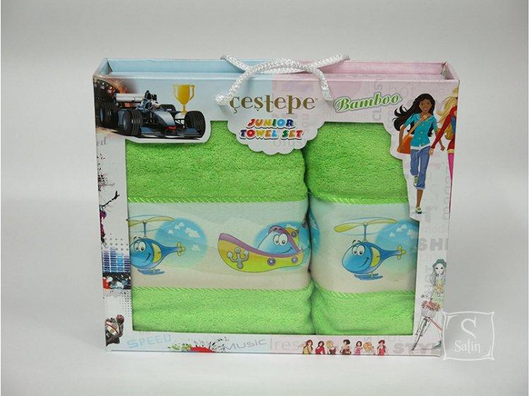 Набор махровых полотенец Cestepe. Bamboo Junior Игрушки