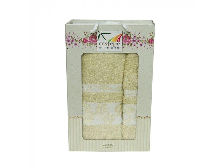 Набор махровых полотенец Cestepe. Bamboo светло-зеленый