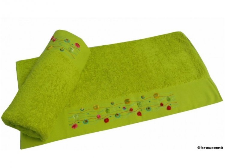 Полотенце махровое Altinbasak. Emma фисташкового цвета