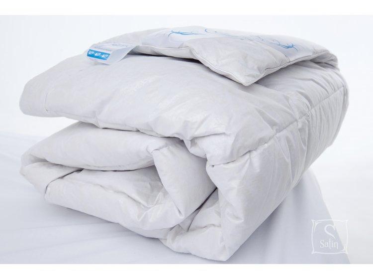 """Одеяло """"Iglen"""" 100% пух стеганное детское демисезонное, 110х140 см"""