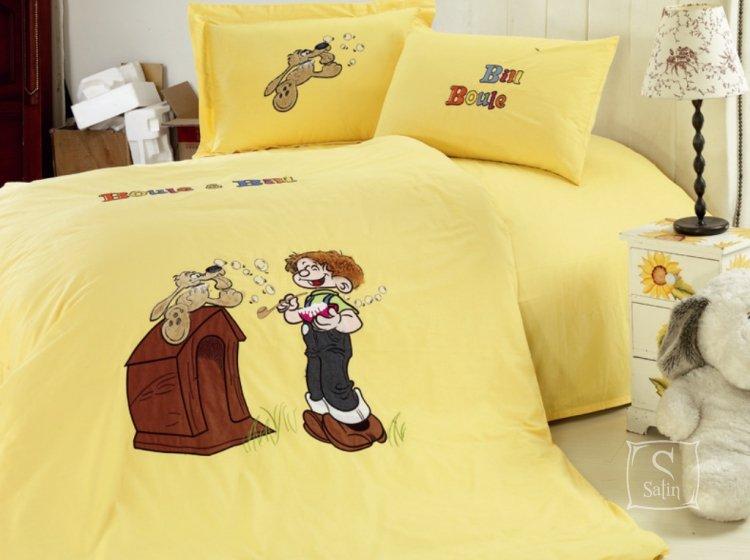 Arya, Vulg, 1,5-спальный комплект с вышивкой, сатин