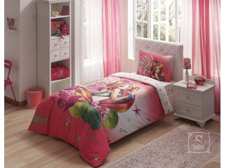 Детское постельное белье TAC. Winx Flora Infinity