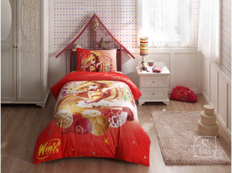 Детское постельное белье TAC. Winx Stella Infinity