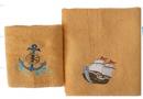 Набор махровых полотенец Home Line. Морские приключения, 2 предмета