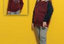 Детский спортивный костюм*тройка Relaxmode. College 01106