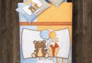 Постельное белье в детскую кроватку Aran Clasy. Sweet bear упаковка