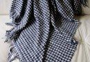 Плед TORINO, 20% шерсть, размер 140х200 см, черного цвета