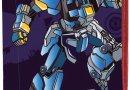 Пенал твёрдый одинарный с двумя клапанами 1 Вересня YES Robot
