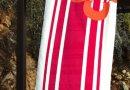 Пляжное полотенце Marie claire. Belem pembe, размер 75х150 см