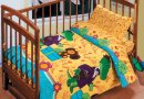 Постельное белье в детскую кроватку Непоседа. День рождения