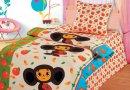 Детское постельное белье Непоседа. Апельсинка с чебурашкой