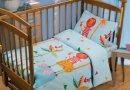 Постельное белье в детскую кроватку Непоседа. Мадагаскар