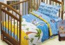 Постельное белье в детскую кроватку Непоседа. На острове