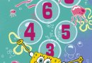 Детский коврик Confetti. Sponge Bob Seksek, размер 100х200 см