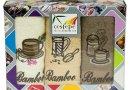 Набор из 3-х махровых кухонных полотенец Cestepe. Bamboo Coffee 01