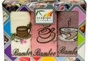 Набор из 3-х махровых кухонных полотенец Cestepe. Bamboo Coffee 02