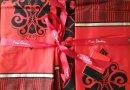 Постельное белье Pierre Cardin. Primavera красного цвета